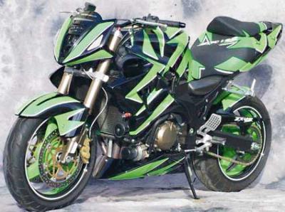 ¡Qué moto!